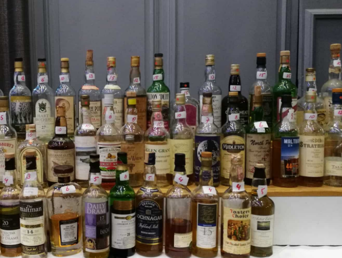Whisky rare & Old 2018