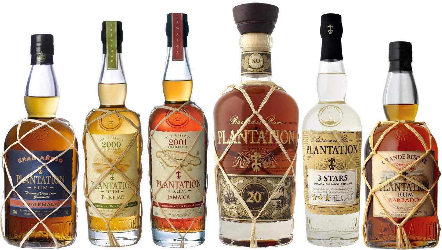 Rum plantation collection